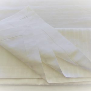 White Cotton Tablecloth (2)
